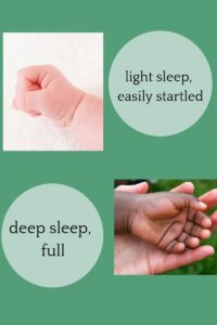 How to tell if baby is full by their hands