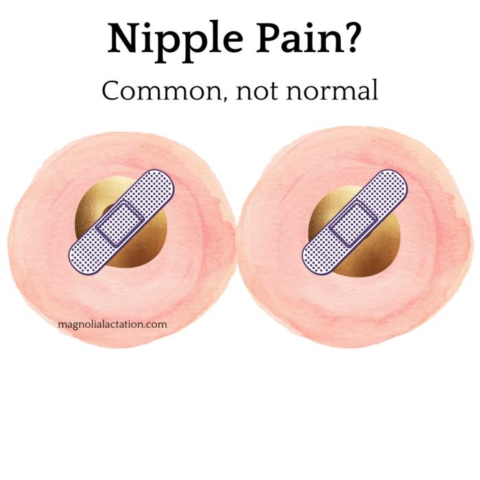 sore nipples